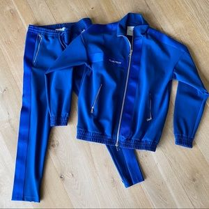 Filling Pieces track pants and jacket blue size S